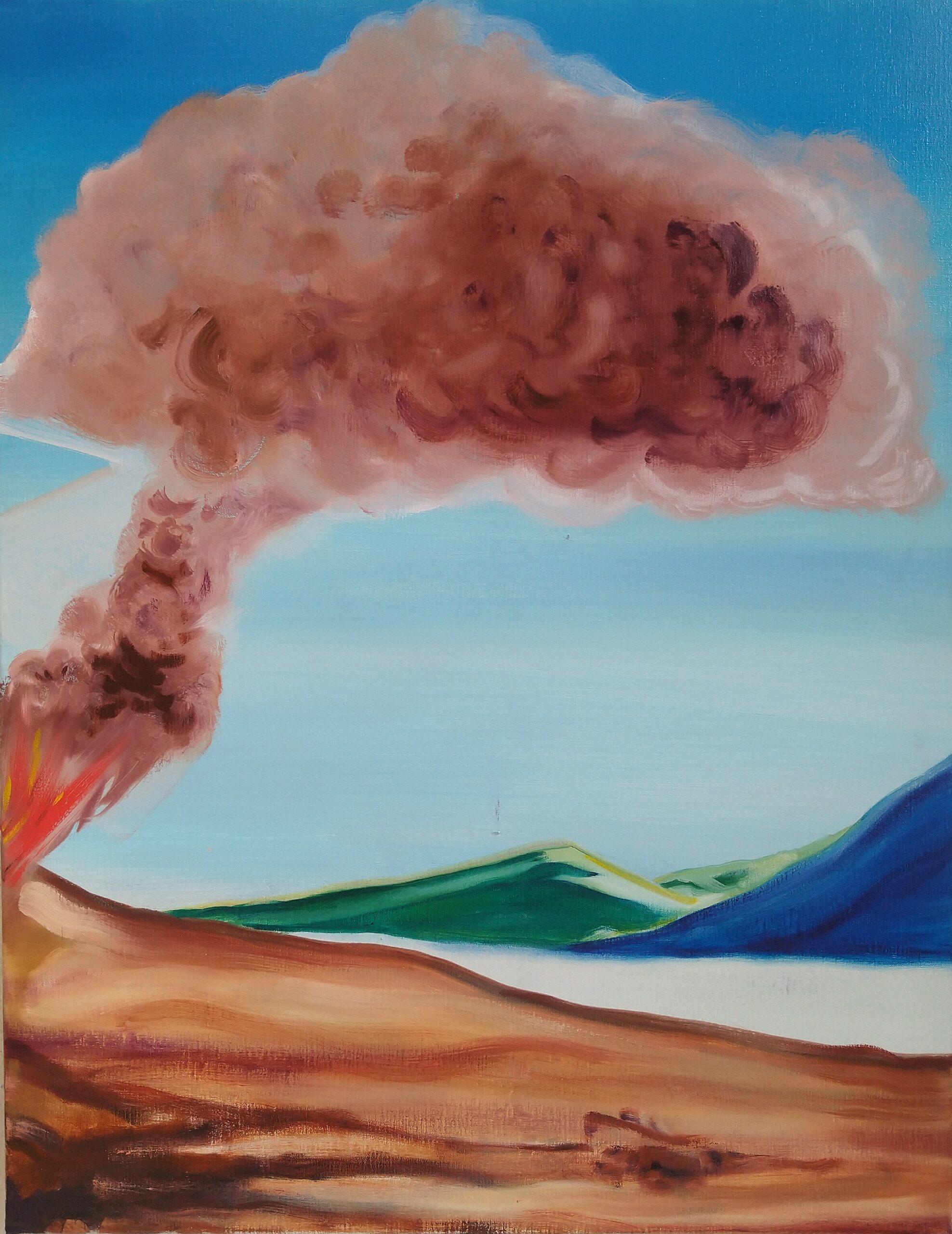 Cloud I_Oil on Linnen_90 x 70 cm_2020